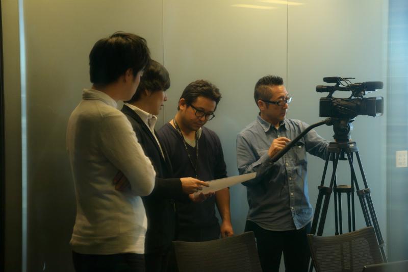 NEWS TV撮影風景3