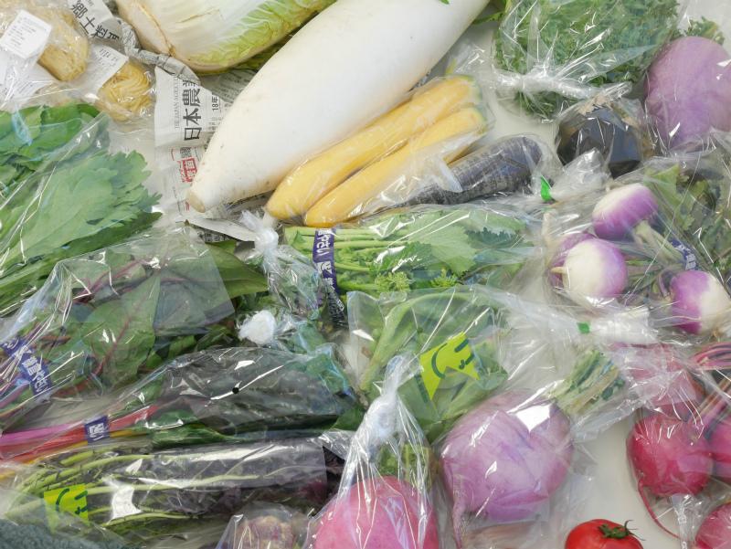 かまベジから取り寄せた鎌倉野菜
